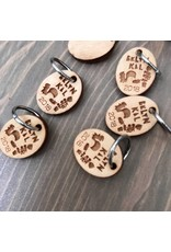 BKLYN KAL single ring stitch marker by Katrinkles - BKAL