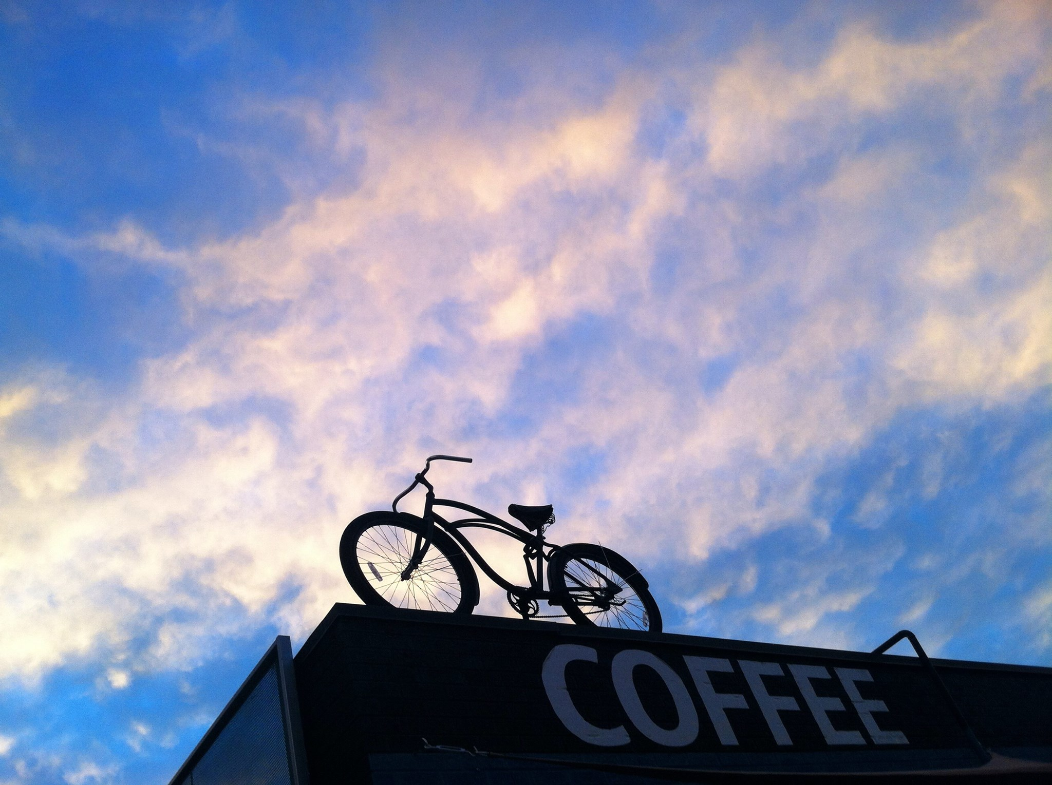 SloHi Bike and Coffee at Sunset
