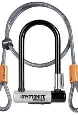 Kryptonite Kryptonite KryptoLok Mini-7 U-Lock with 4' Flex Cable and Bracket