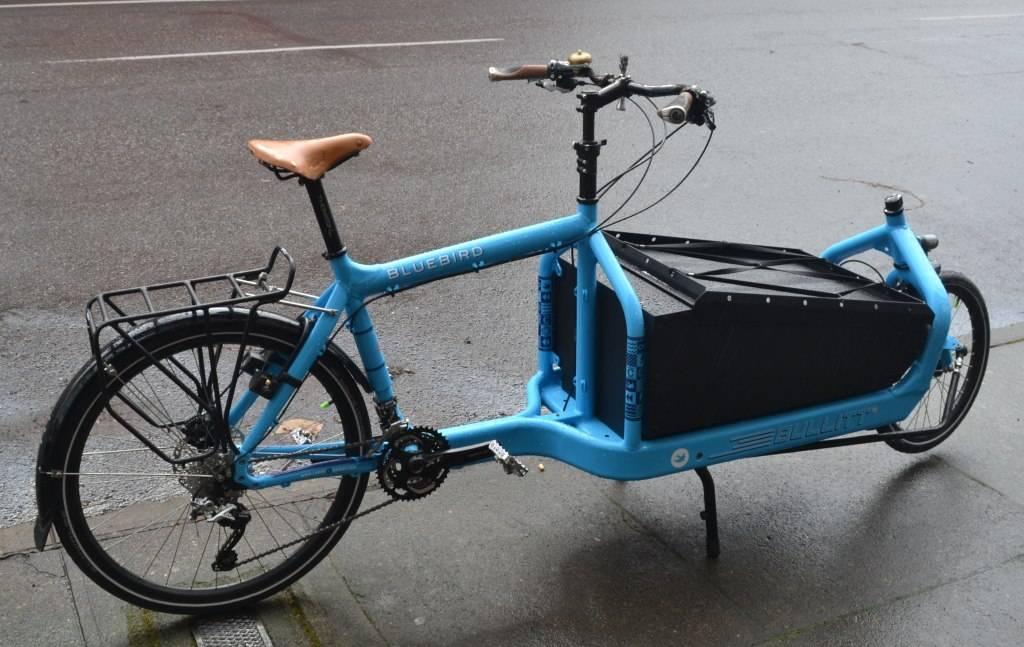 BULLITT Cargo Bike Deore 3x10 Bluebird