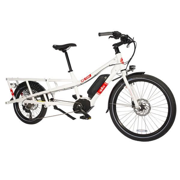 Yuba Spicy Curry Bosch Electric Cargo Bike White