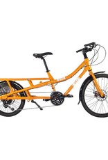 Yuba Sweet Curry Cargo Bike Orange