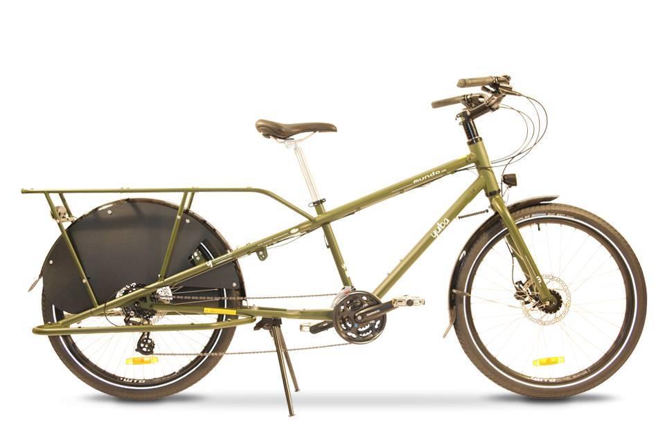 Yuba Mundo LUX 24-speed Cargo Bike Olive