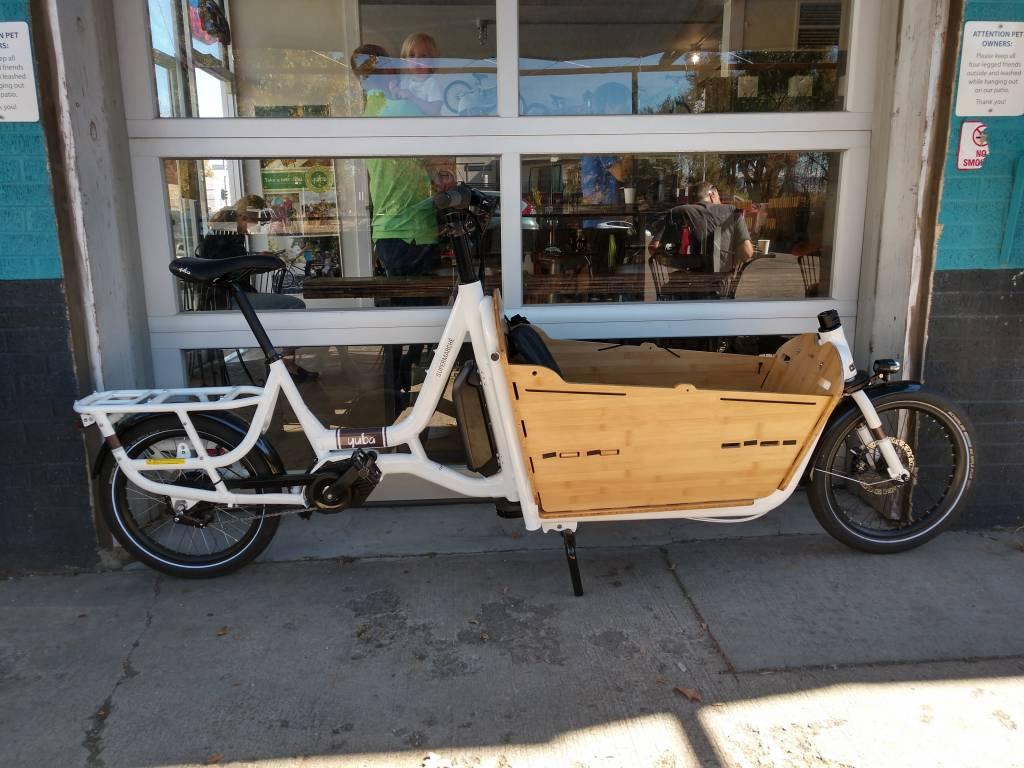 Yuba Supermarche Bosch Electric Front Loader Cargo Bike