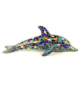 "Souvenirs Barcino 9"" Blue Dolphin"