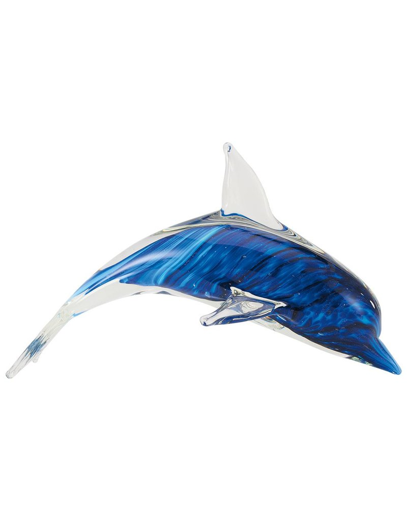 """Souvenirs 10"""" Cobalt Stripe Dolphin"""