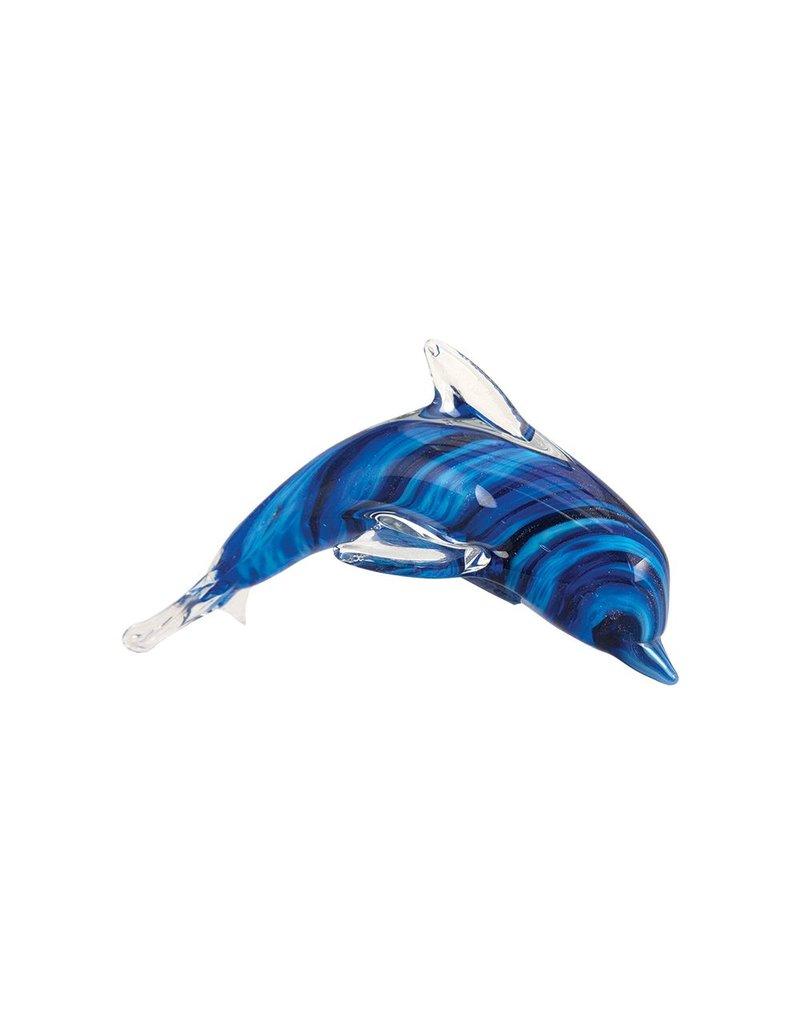 """Souvenirs 6"""" Cobalt Stripe Dolphin"""