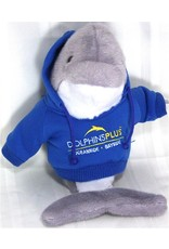Toys & Plush Hoodie Dolphin-Royal with Yellow Logo