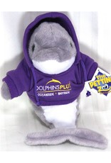 Toys & Plush Hoodie Dolphn-Purple with Yellow Logo