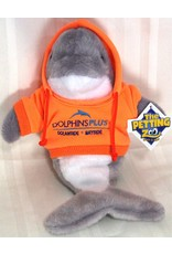 Toys & Plush Hoodie Dolphin - Mango with Blue Logo