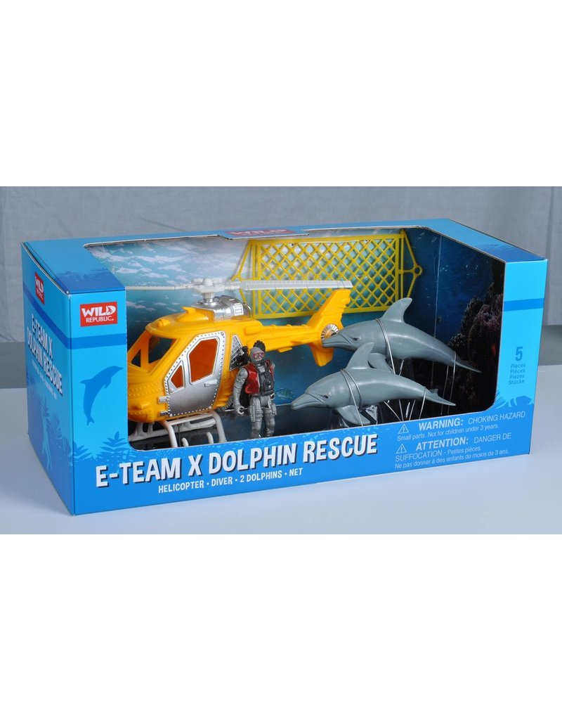 Toys & Plush Helicopter & Dolphin Play Set