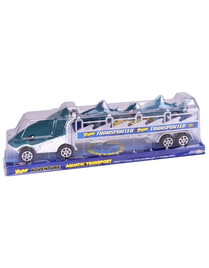 Toys & Plush Xtreme Transport Shark Truck