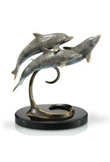 Souvenirs Triple Dolphins on Marble
