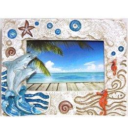 Souvenirs Stone Dolphin Frame