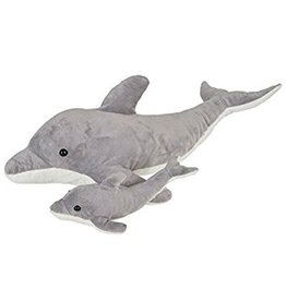 "Toys & Plush 22"" & 9"" Birth of Life Dolphin with Baby"
