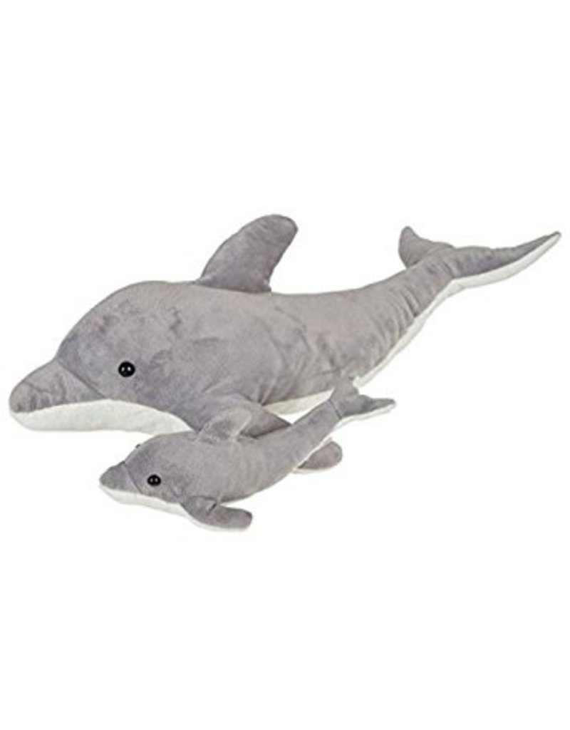 """Toys & Plush 22"""" & 9"""" Birth of Life Dolphin with Baby"""