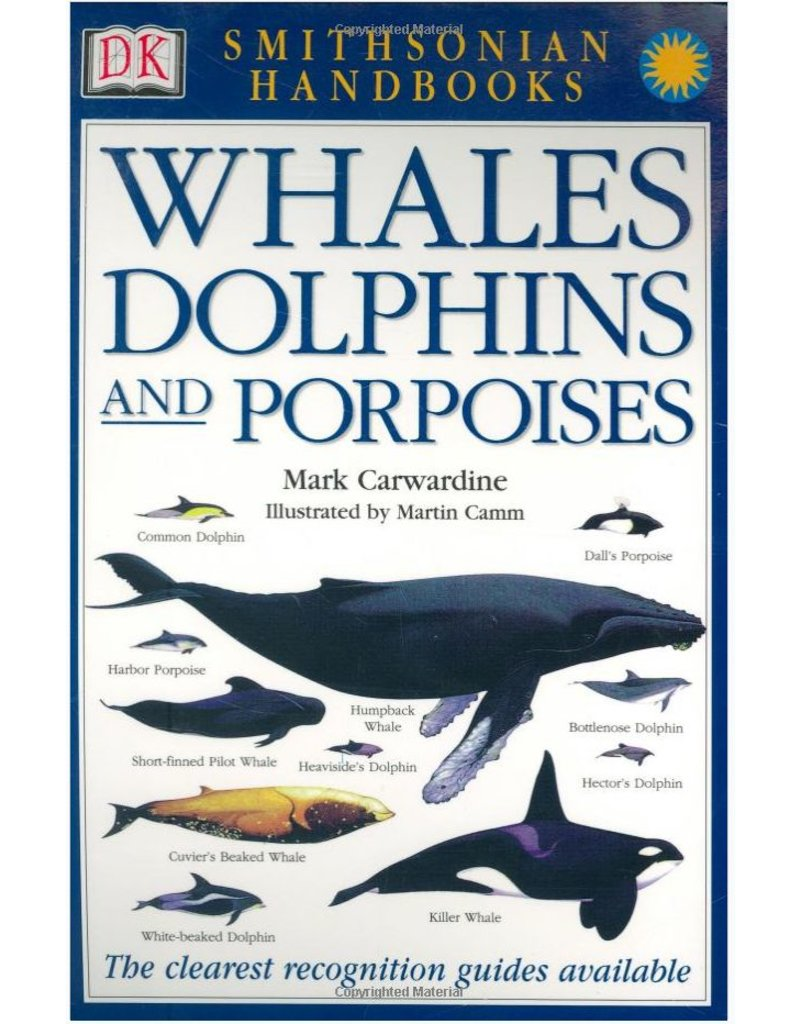 Books Smithsonian Handbooks Whales Dolphins and Porpoises