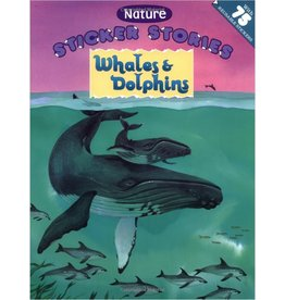 Books Sticker Stories Whales & Dolphins