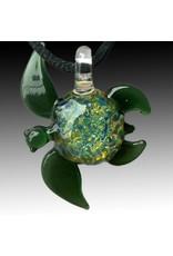 Jewelry Glass Sea Turtle