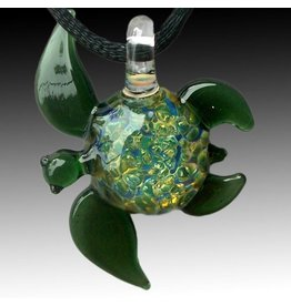 Jewelry Glass Sea Turtle