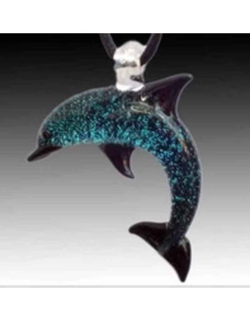Jewelry Glass Dolphin