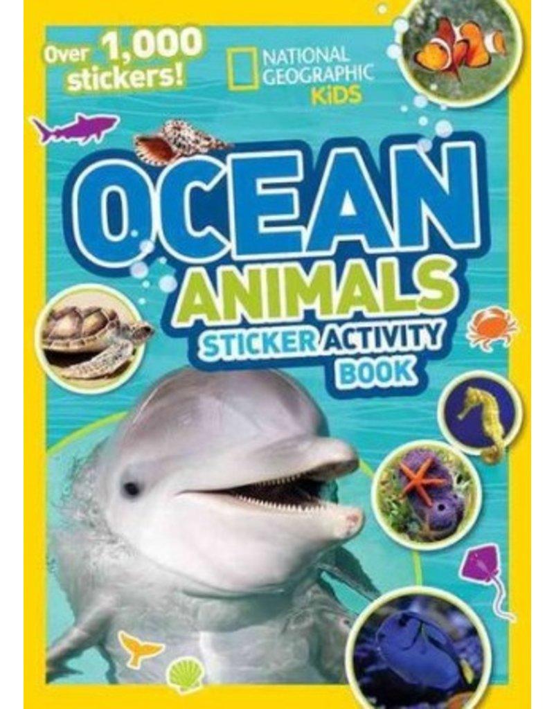Books Ocean Animals Sticker Activity