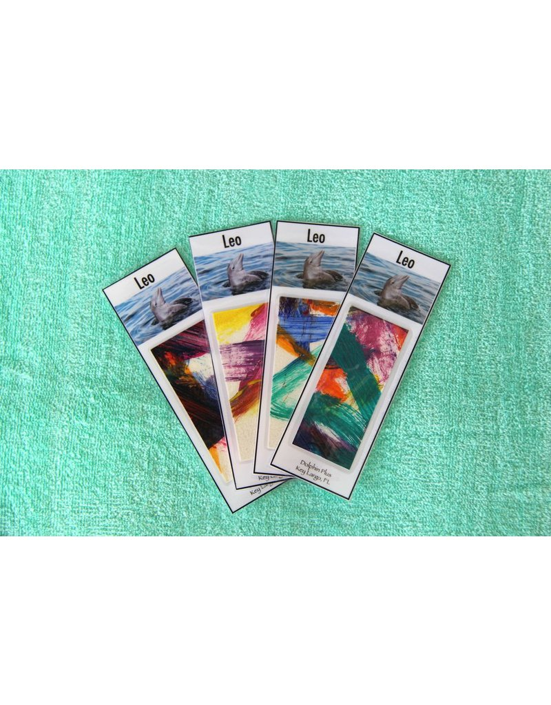 Gallery Leo Painted Bookmark
