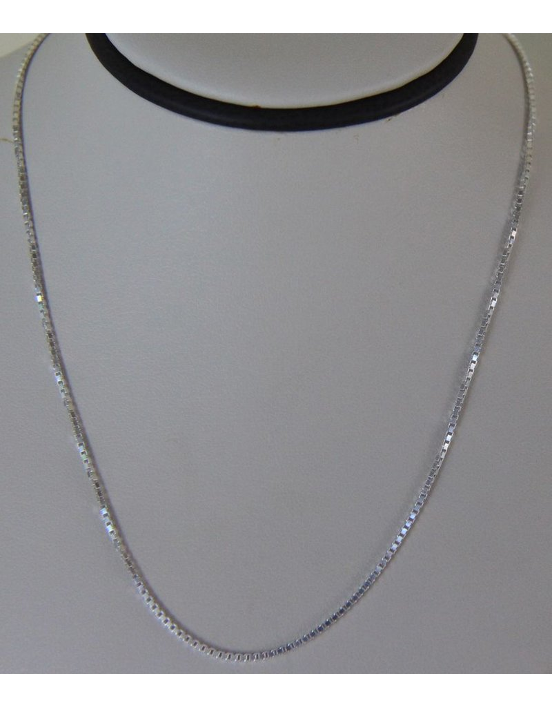"Jewelry 18"" Sterling Silver Necklace"