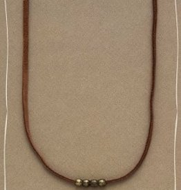 "Bops 26"" Swap Foundation Necklace Coffee"