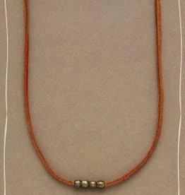 Bops Foundational Necklace Orange Short