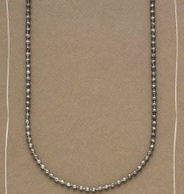 Bops Silver Ball Chain Foundational Necklace