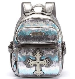 Miss Me Stacked Cross Backpack HB251BP2
