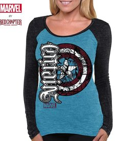 Red Chapter Captain/America Ambigram Tee