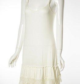 White Slip Dress CH364
