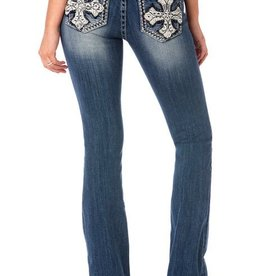 Miss Me Crossroads Boot Cut Jeans