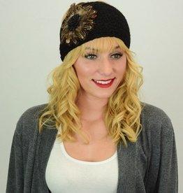 Feather Flower Headband