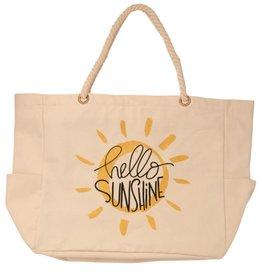 Bops Hello Sunshine Canvas Tote