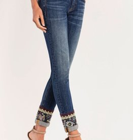 Miss Me Wander Lust Mid-Rise Ankle Skinny Jean