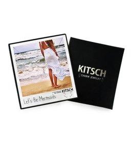 Kitsch Mermaid Charm Necklace/Earring set