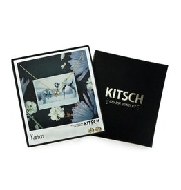 "Kitsch ""Karma"" Elephant Necklace/Earring set"