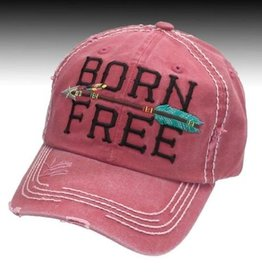 Born Free Vintage Ball Cap