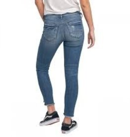 Silver Jeans Calley Ankle Skinny in Indigo wash 27inch inseam