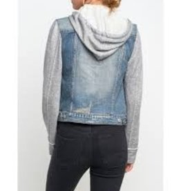 Silver Jeans Co. Sasha Indigo, Ladies Woven Outerwear Jacket