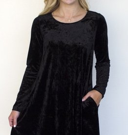 Carole'S Collection Crushed Velvet Tunic