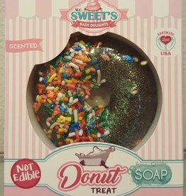 M.C. Sweets Donut Shop Treat Chocolate Dipped Soap