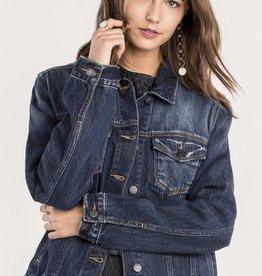 Miss Me Classic Edition Denim Jean Jacket