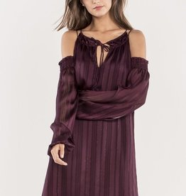 Miss Me Cold Shoulder Dress