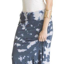 Knit Tie Dye Skirt