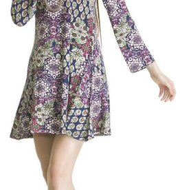 Patchwork Print Tunic/Dress