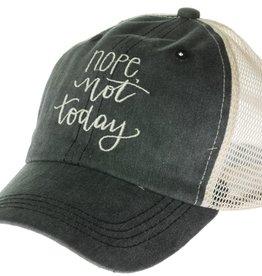 """Trucker Hat """"Nope, Not Today"""""""
